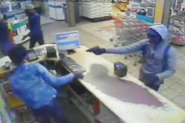 <p>Armed robbery atlocal retail store</p>