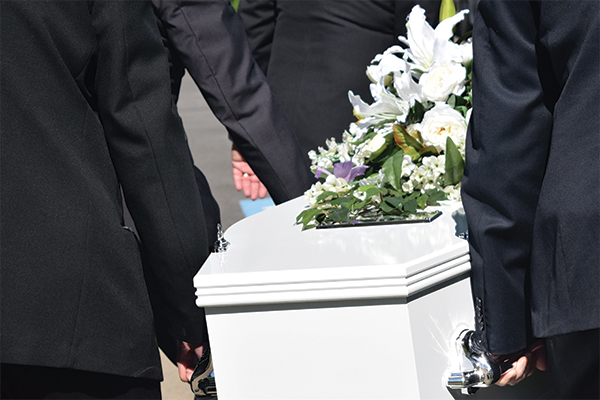 <p>Funeral Industry Strike Pose Health Risk</p>
