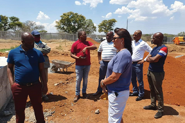 <p>TLM PMT and management oversight visits continue</p>